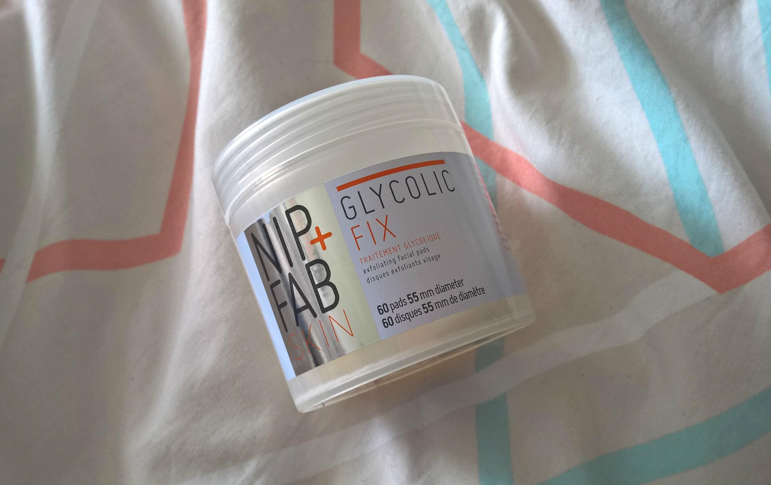 NIP+FAB Glycolic Fix Exfoliating Facial Pads Review