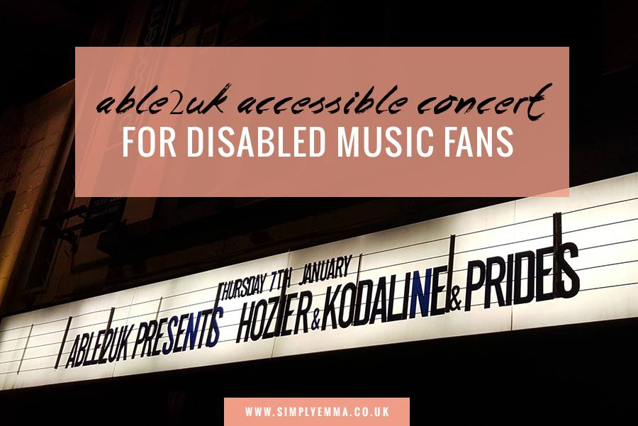 Able2uk Accessible Concert For Disabled Music Fans