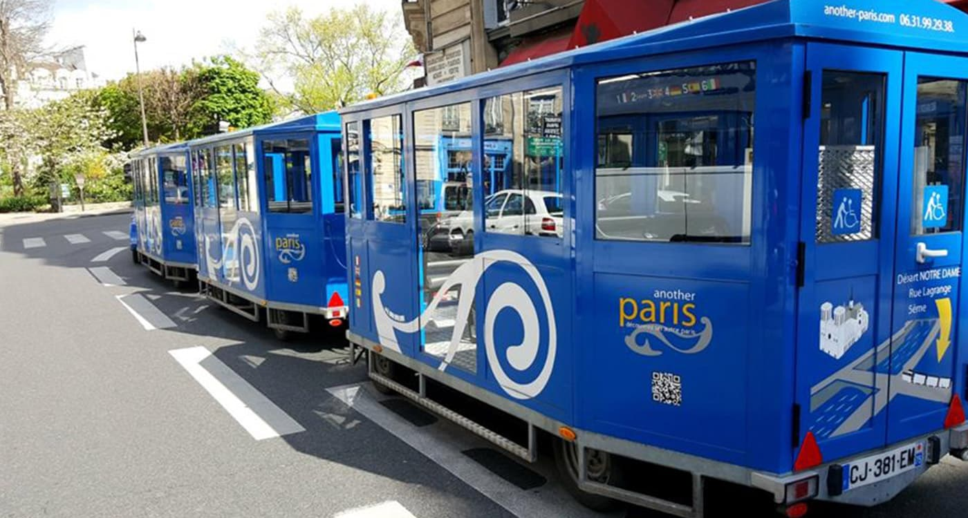 Another Paris | The Wheelchair Accessible tourist train tour
