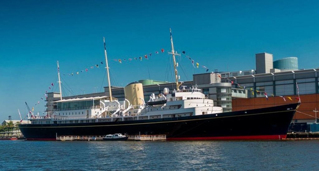 The Royal Yacht Britannia – Wheelchair Accessible Tour