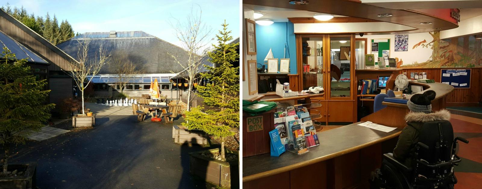 Calvert Trust Kielder Reception Centre