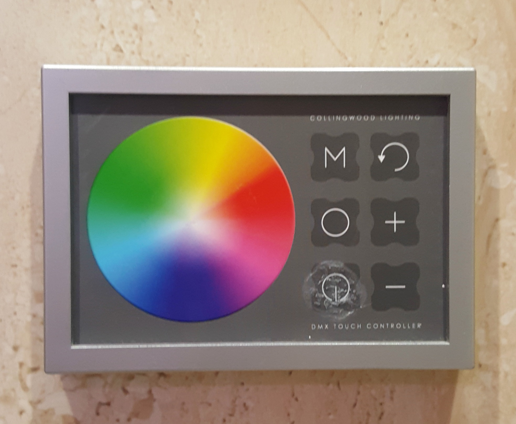 Colour changing lights control