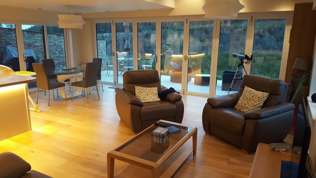 Living area of The Bradbury