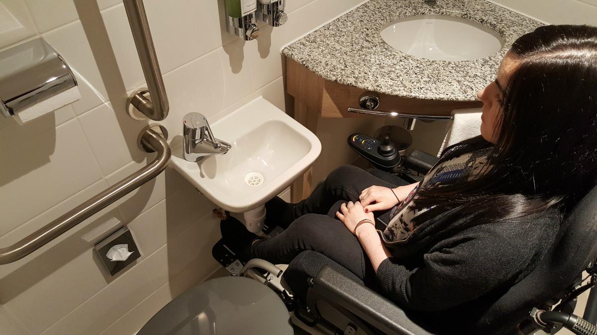Bathroom Sinks Glasgow hamptonhilton glasgow central | wheelchair access review