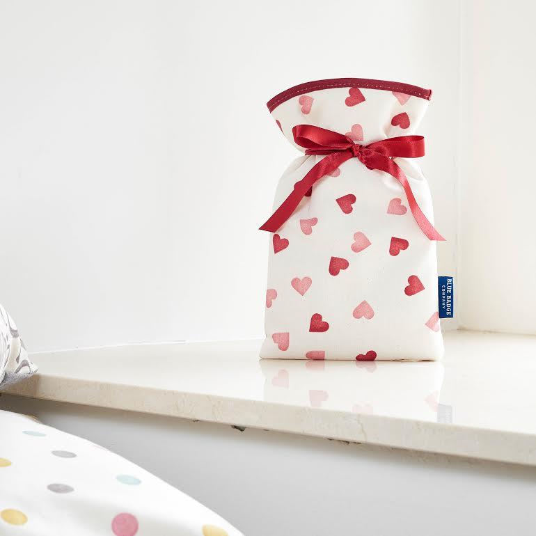 Emma Bridgewater Hearts mini hot water bottle