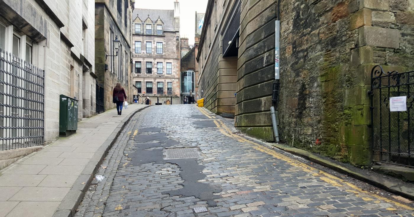 The Mound, Ramsay Lane, Edinburgh