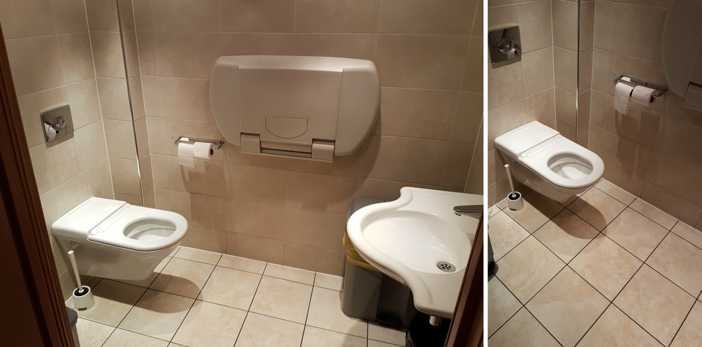 The Scotch Whisky Experience accessible toilet