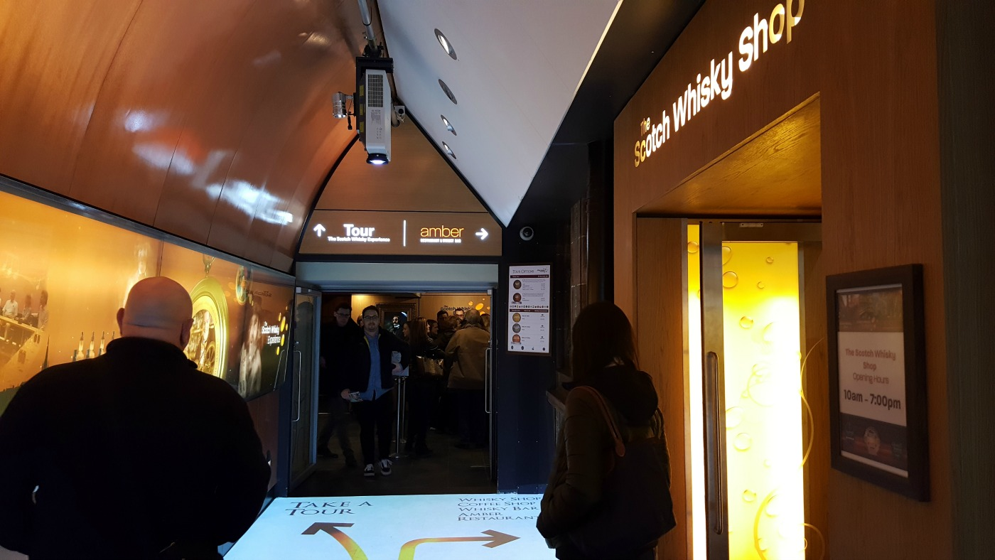 The Scotch Whisky Experience entrance