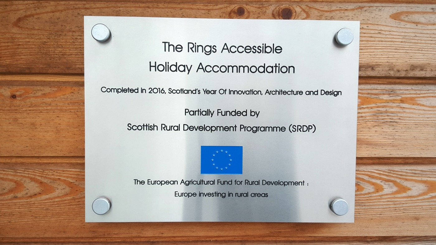therings-accessible-holiday-cottage-plaque
