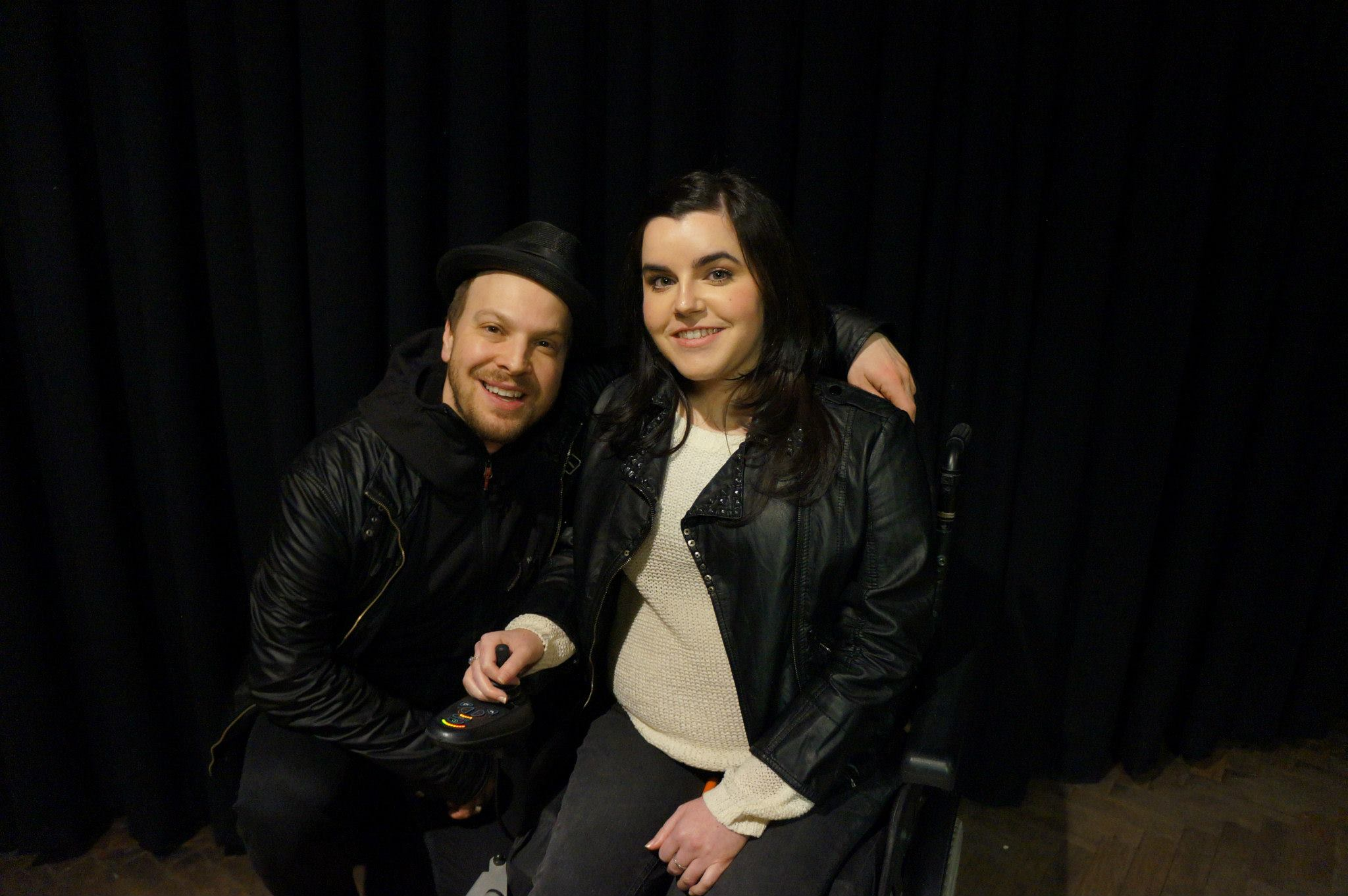 SimplyEmma meeting Gavin DeGraw Meet & Greet Manchester