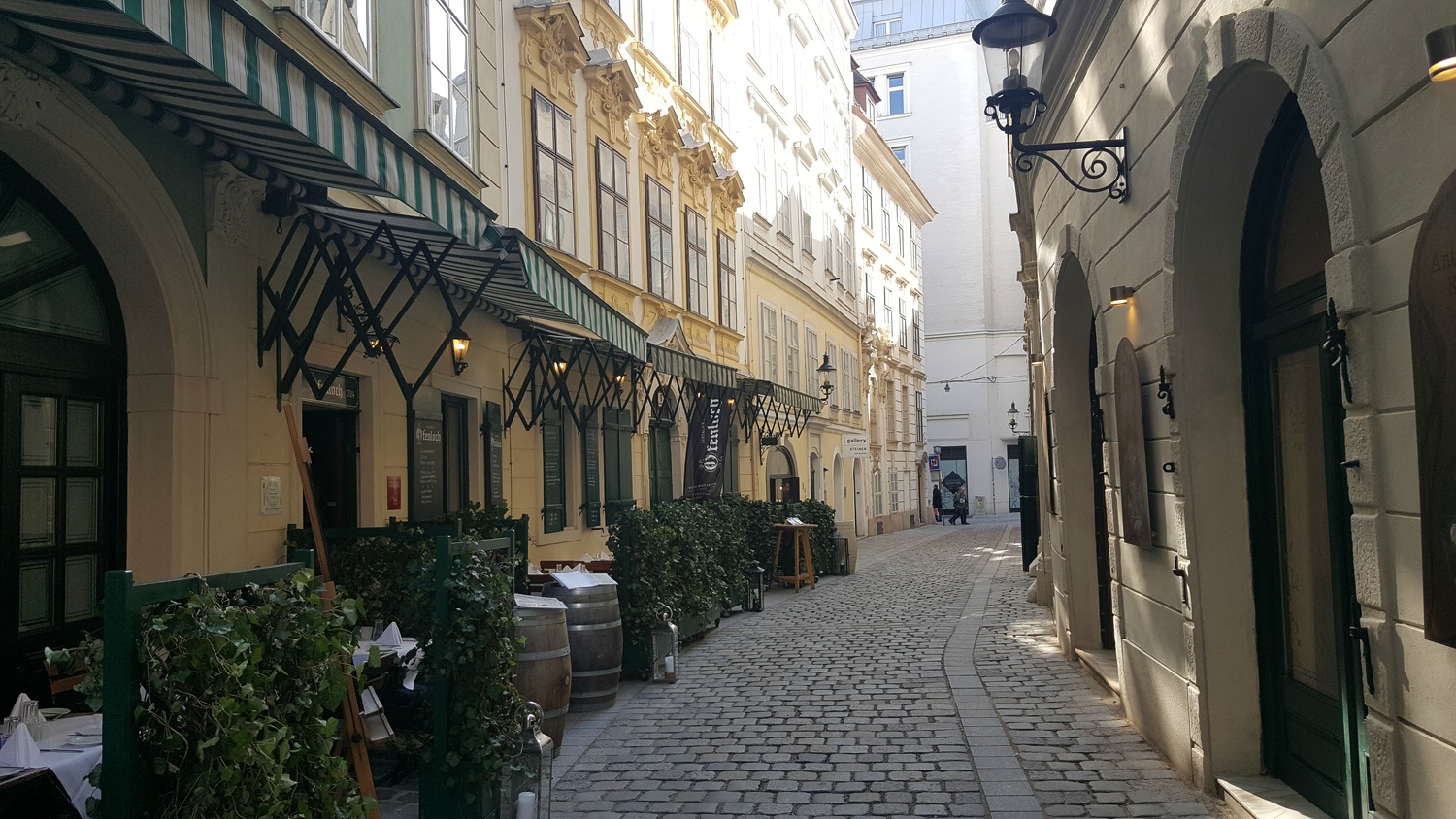 Vienna Photo Diary side streets