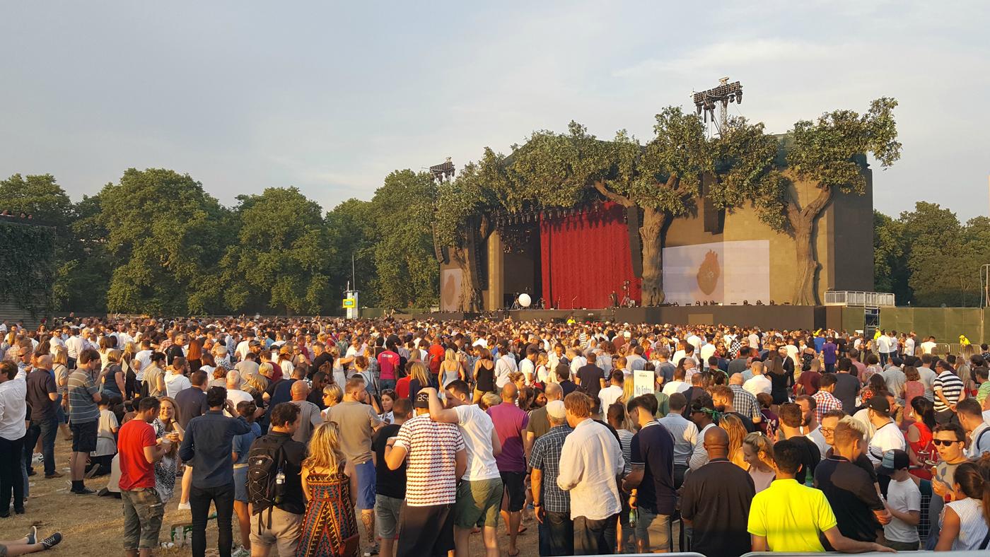 BST Hyde Park 2017 Kings of Leon