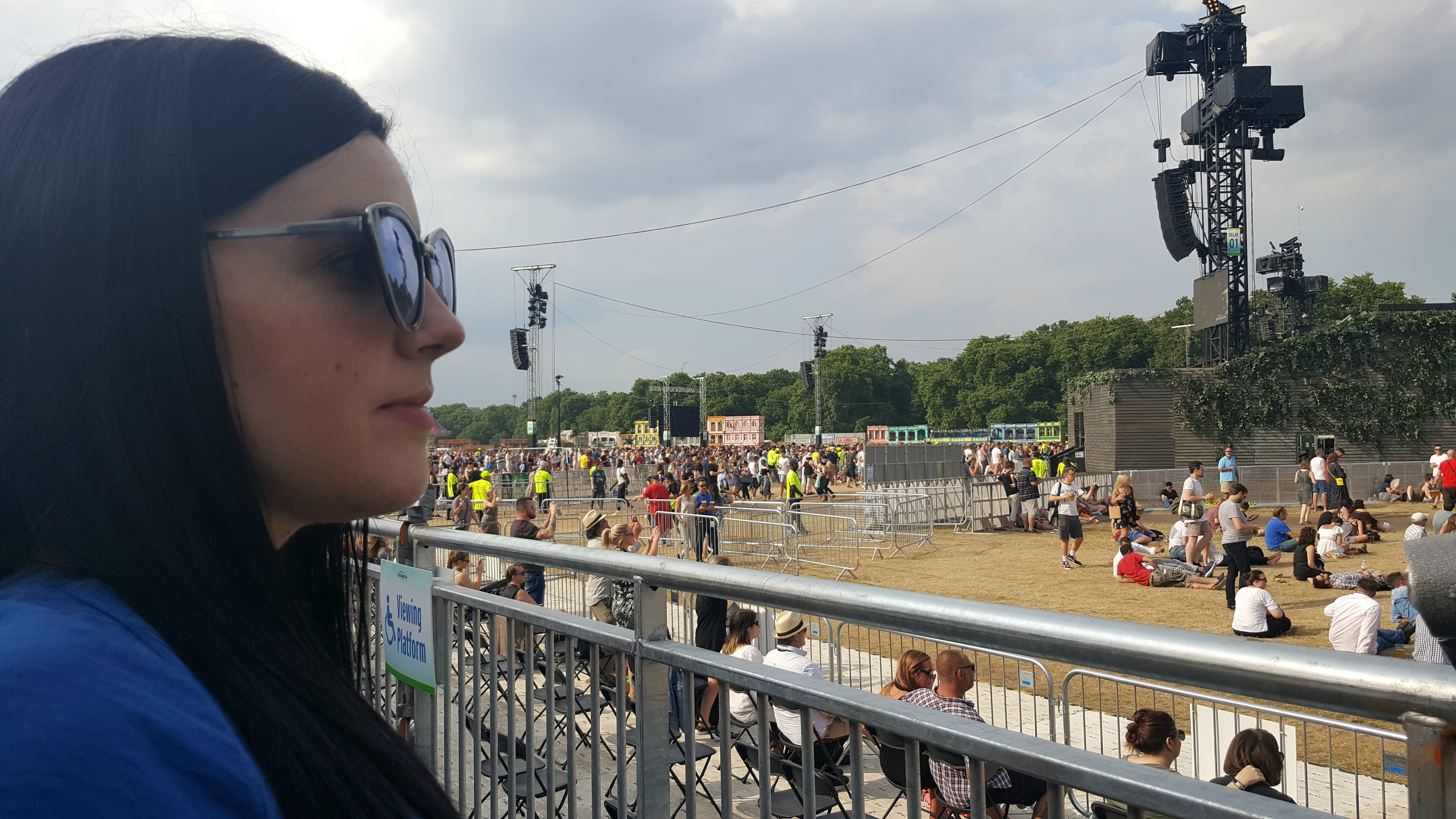 BST Hyde Park 2017 viewing platform The Great Oak Stage