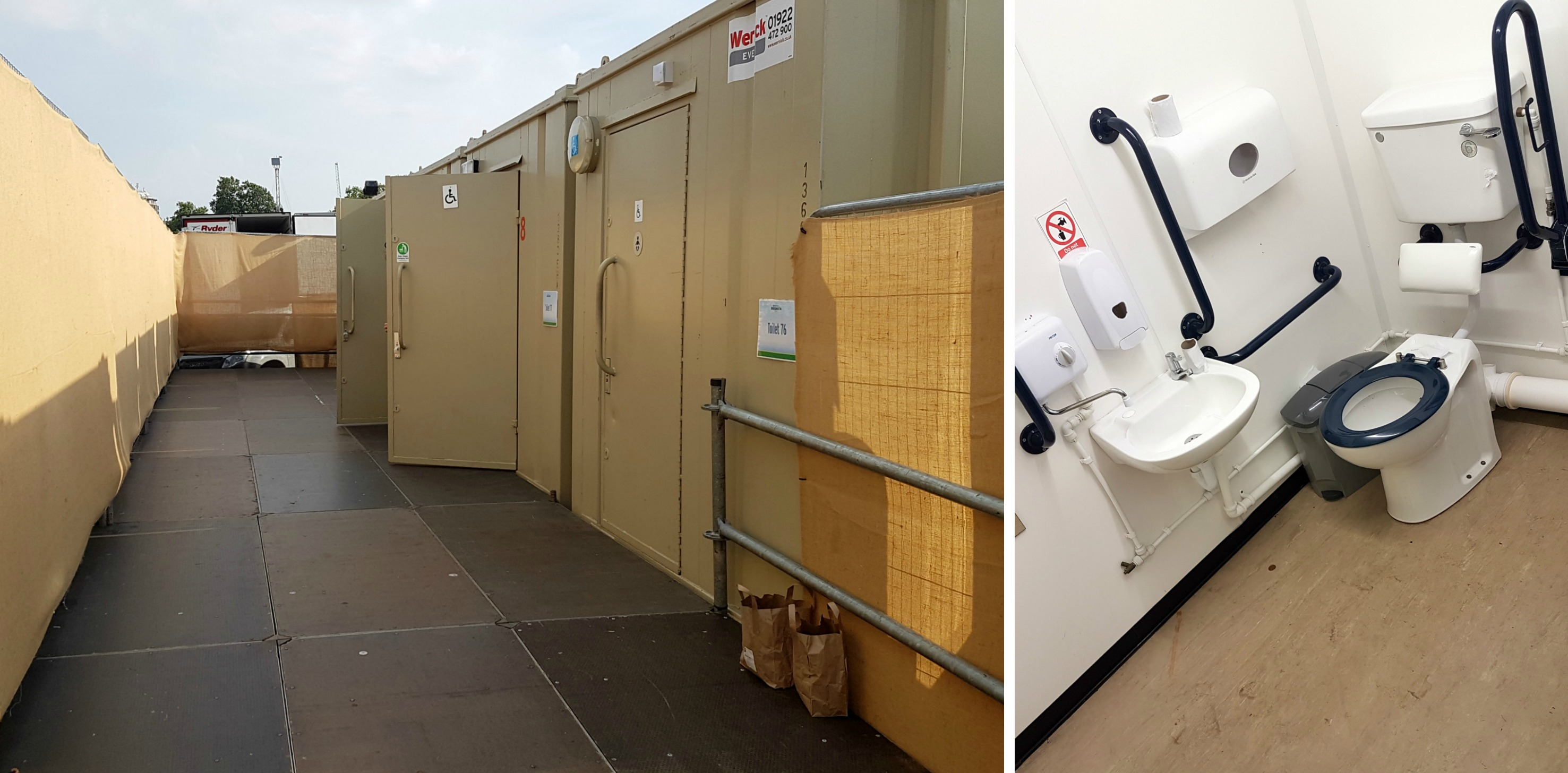 BST Hyde Park accessible toilet facilities