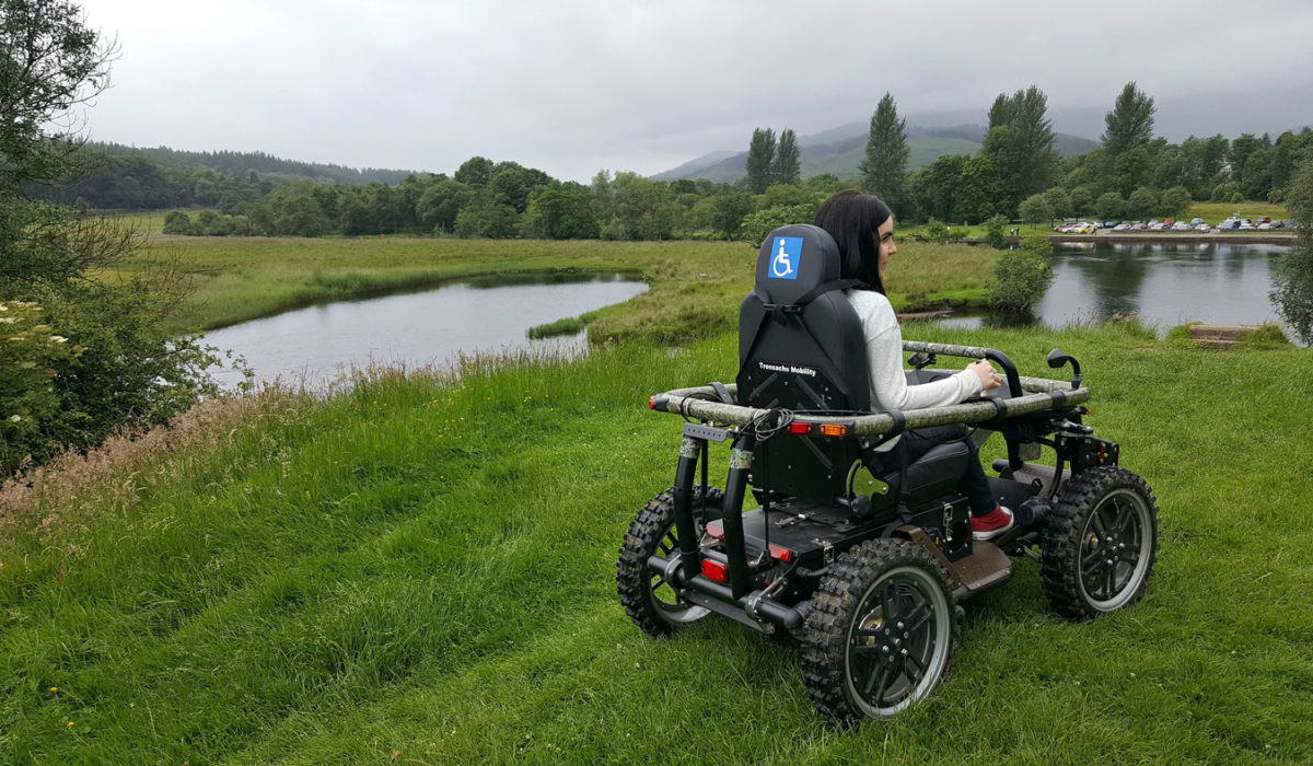 Explore The Beautiful Countryside With The All-Terrain Wheelchair