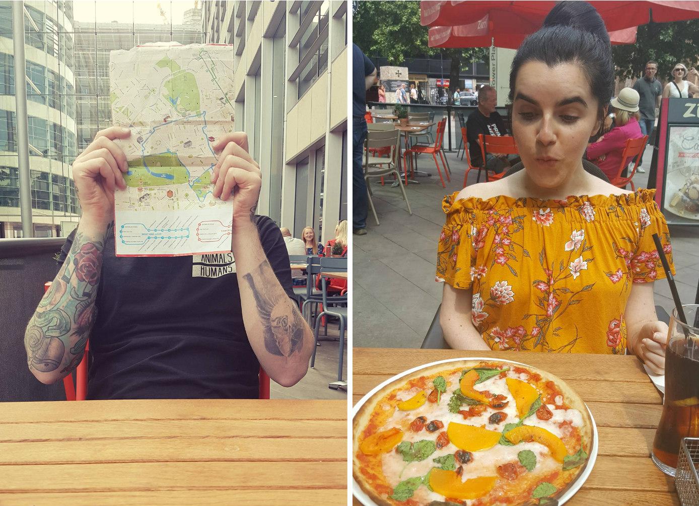 london-photo-diary-vegan-zizzis-pizza