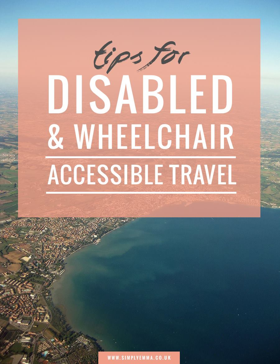 tips for disabled and wheelchair accessible travel
