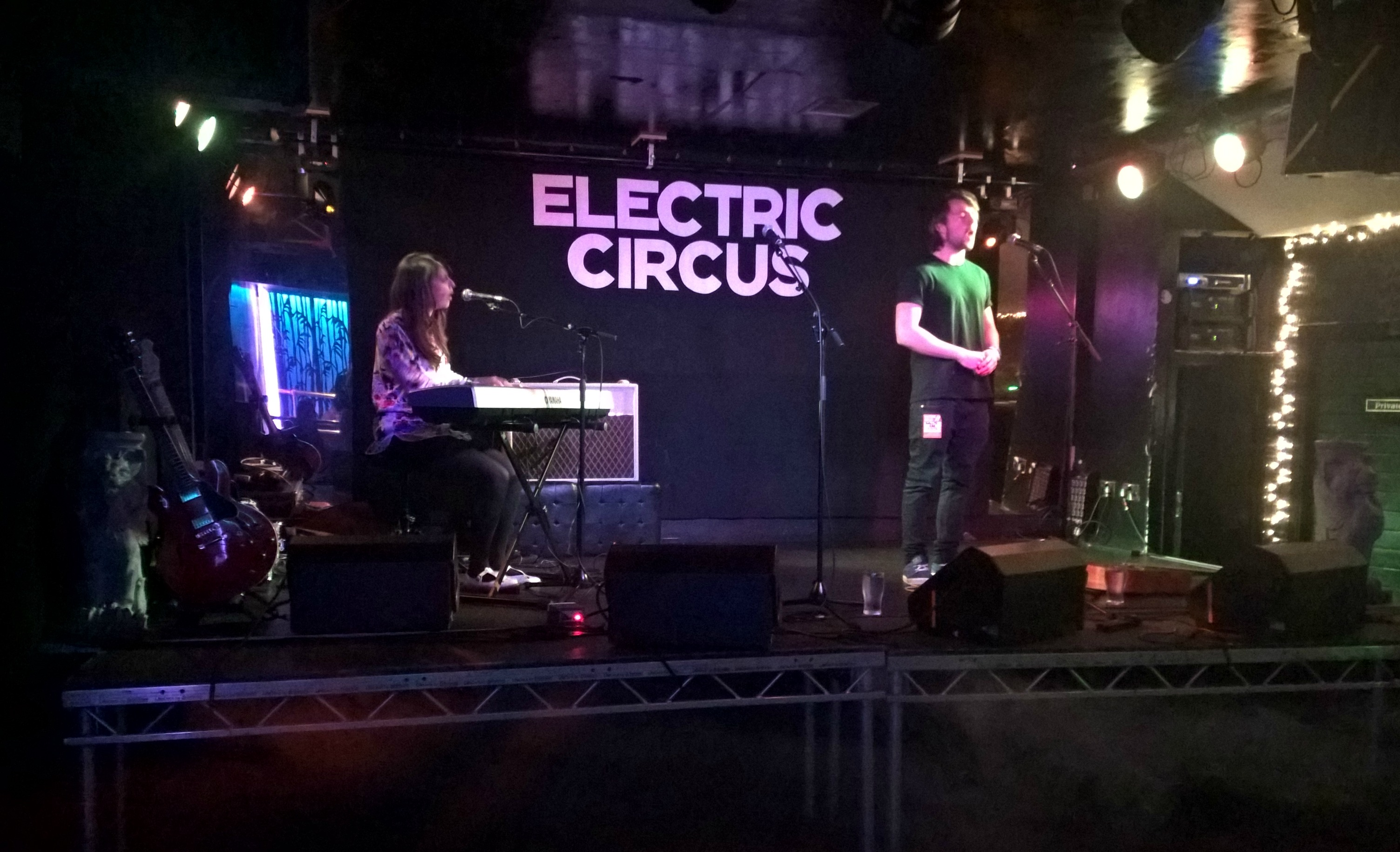 Karima Francis at The Electric Circus Edinburgh