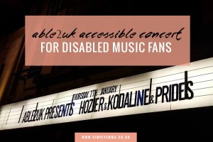 ABLE2UK Accessible concert for disabled fans at O2 Academy Glasgow