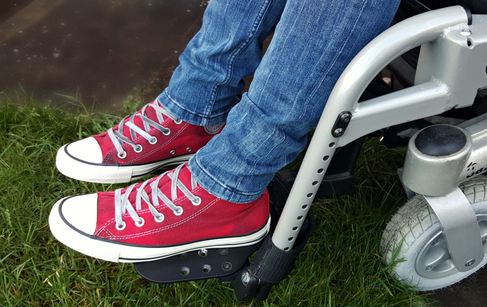 Chuck Taylor All Star Black Wash Collection Wheelchair fashion