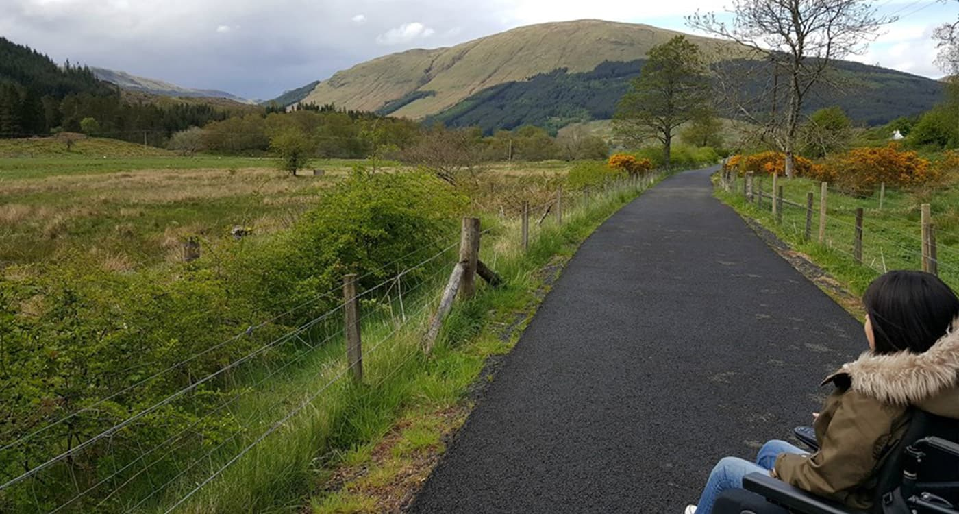 Accessible Scottish Walks: Strathyre