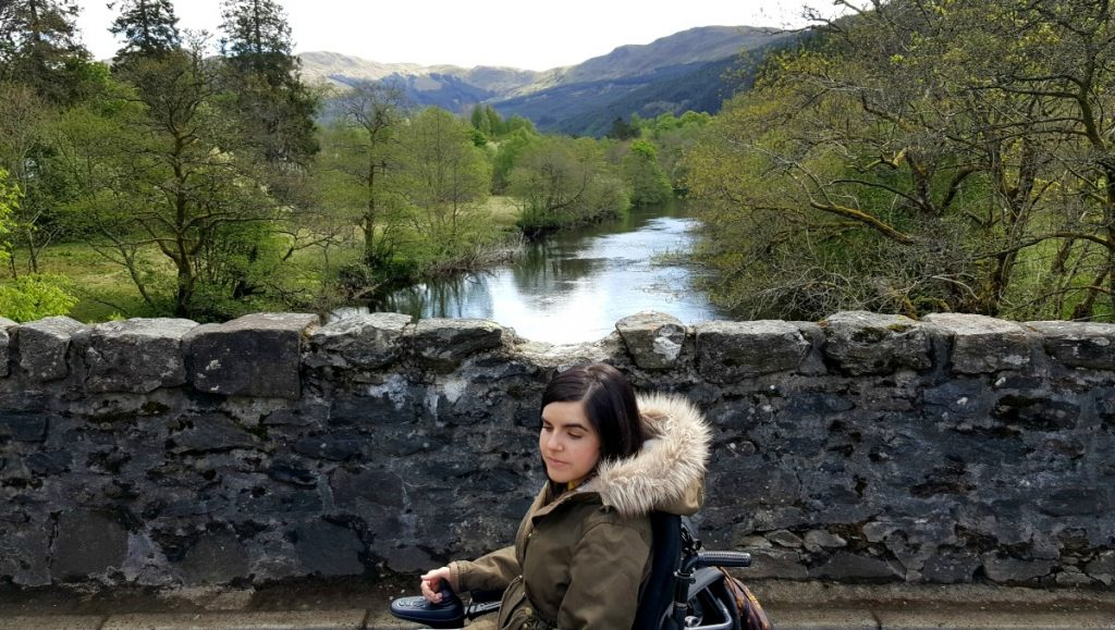 Accessible Scottish Walks Strathyre stone bridge wheelchair accessible