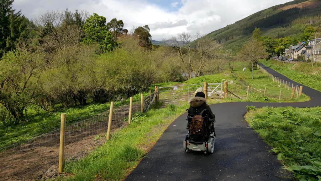 Accessible Scottish Walks Strathyre wheelchair accessible