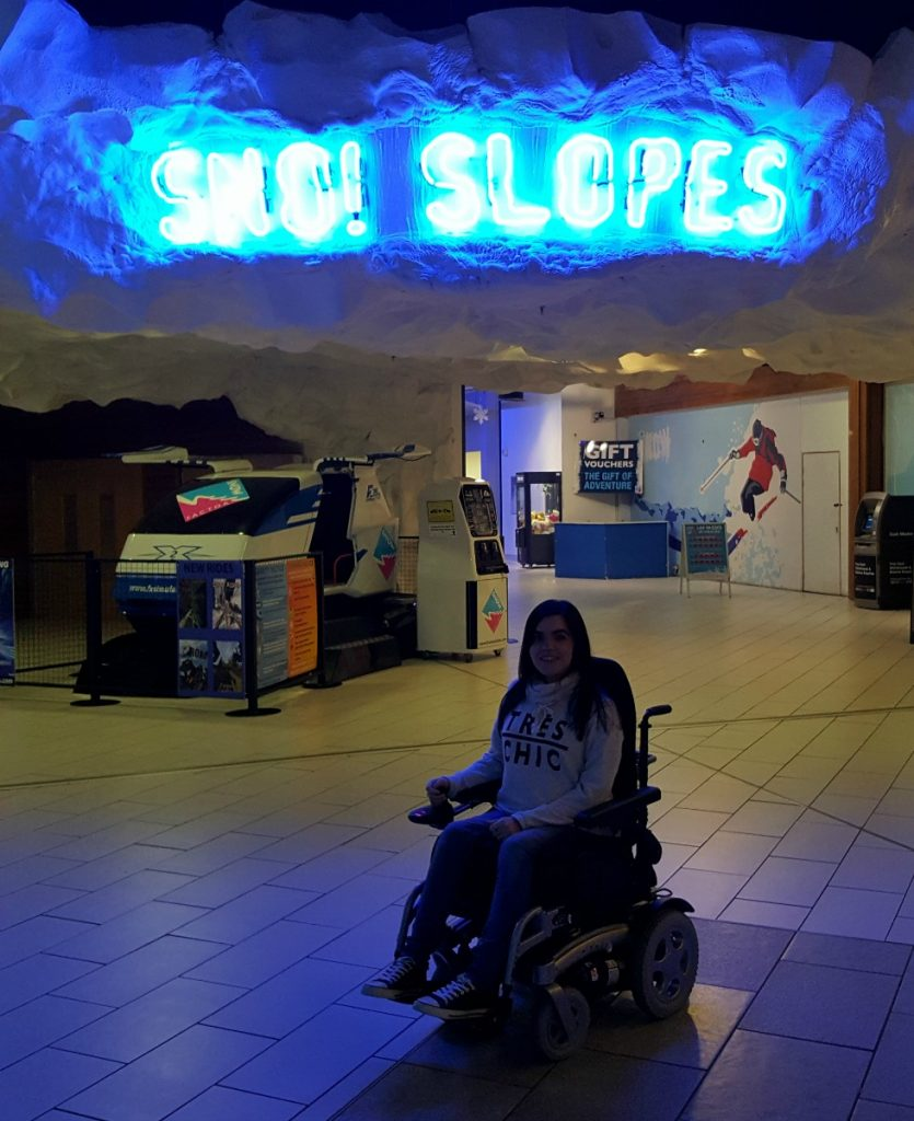 Accessible Skiing in Glasgow Snowfactor Soar Intu Braehead Glasgow