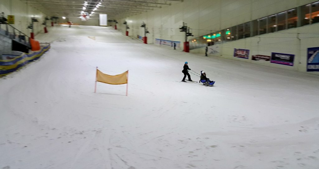 Accessible Skiing in Glasgow Disability Snowsport UK