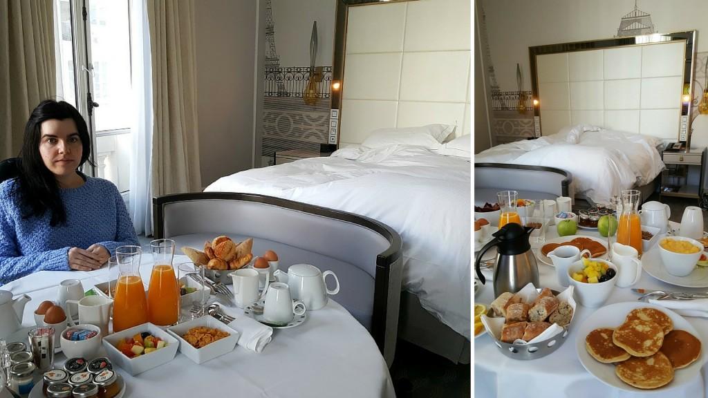 Hilton Paris Opera - suite-room service Wheelchair Access Review