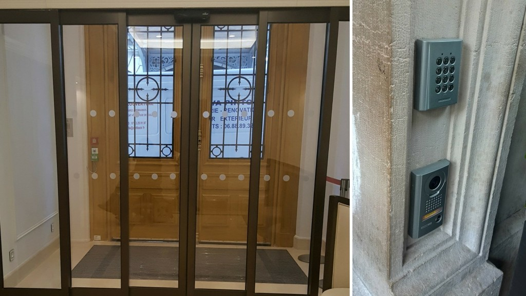 Hilton Paris Opera - accessible entrance -Wheelchair Access Review
