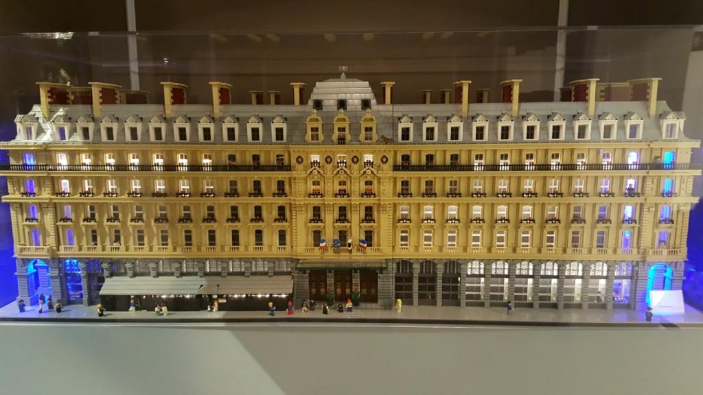 Hilton Paris Opera - lego building Wheelchair Access Review