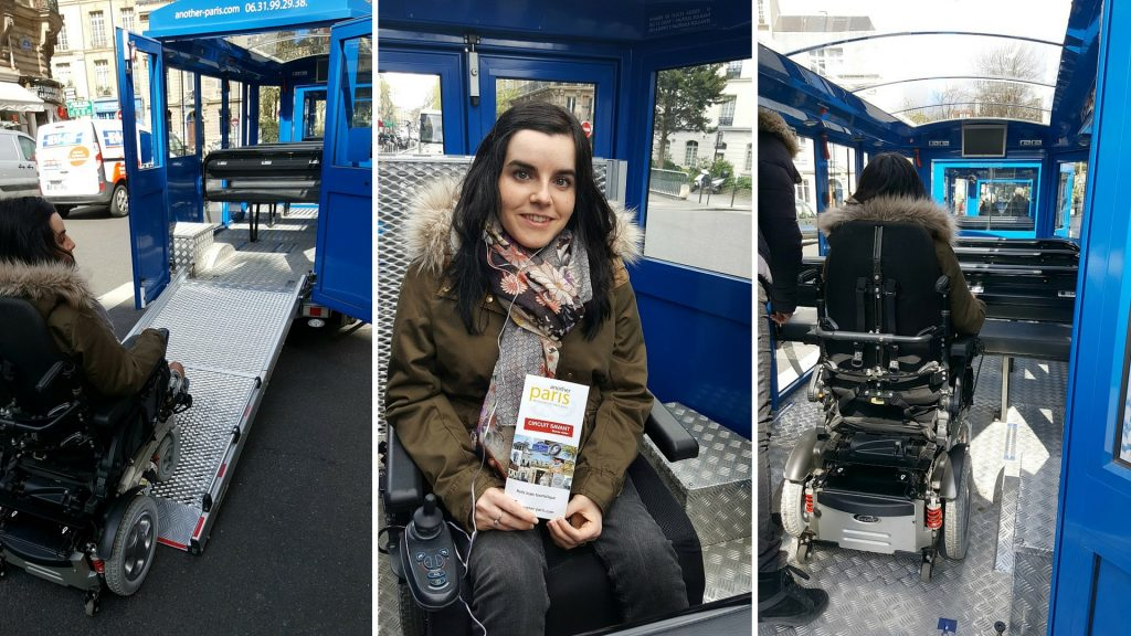 another paris wheelchair accessible train tour wheelchair ramp