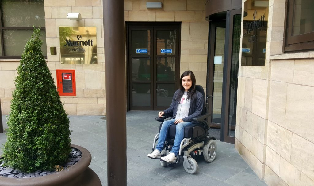 Liverpool Marriott Wheelchair Access Entrance