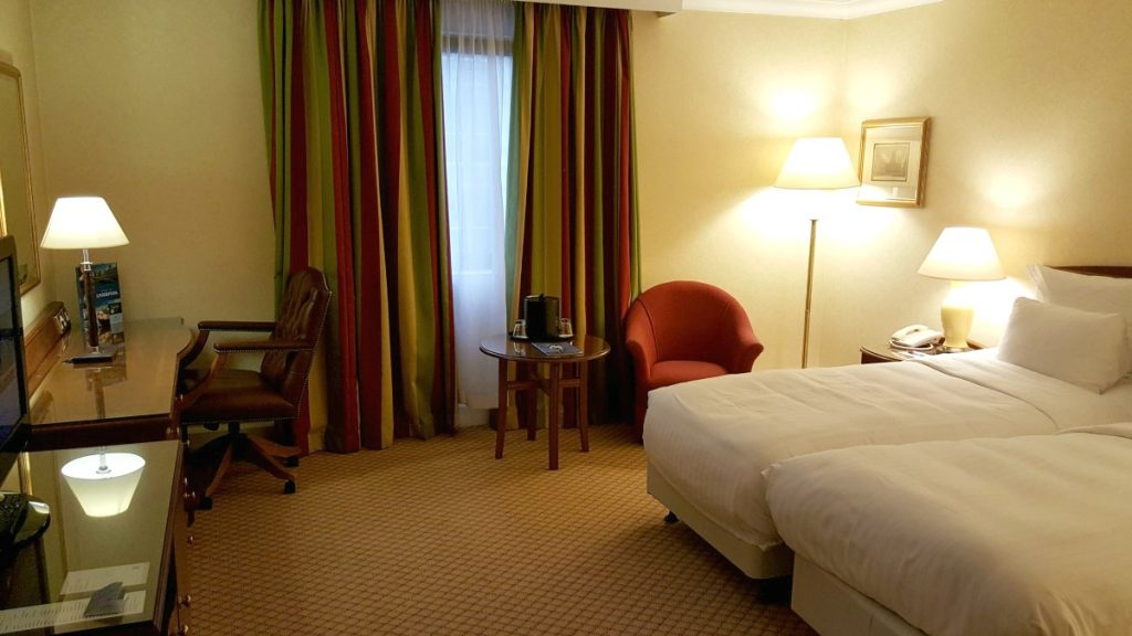 Liverpool Marriott Wheelchair Accessible room