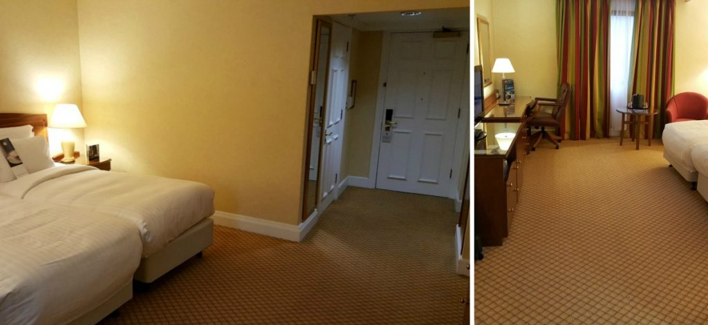 Liverpool Marriott Wheelchair Accessible room size