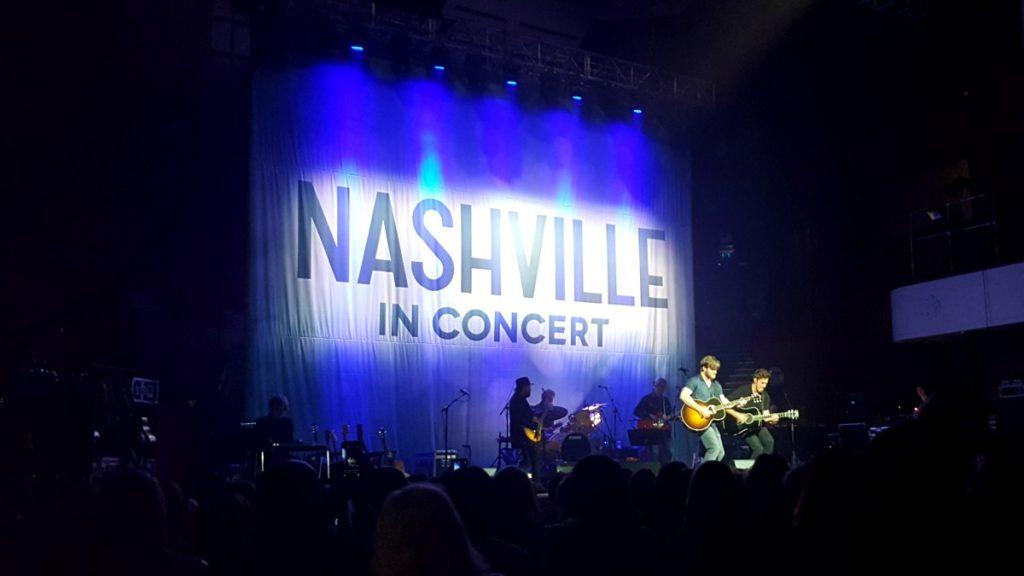 Nashville in Concert @ Colston Hall Bristol Access Review Chris Carmack & Sam Palladio
