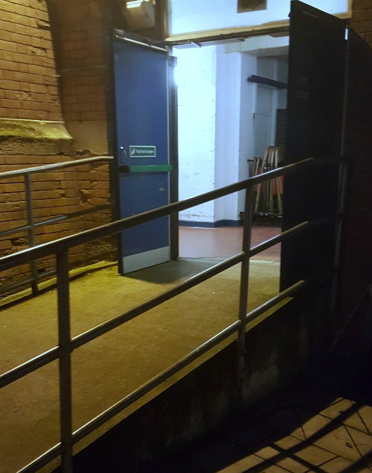 Nashville in Concert @ Colston Hall Bristol Access Review accessible exit