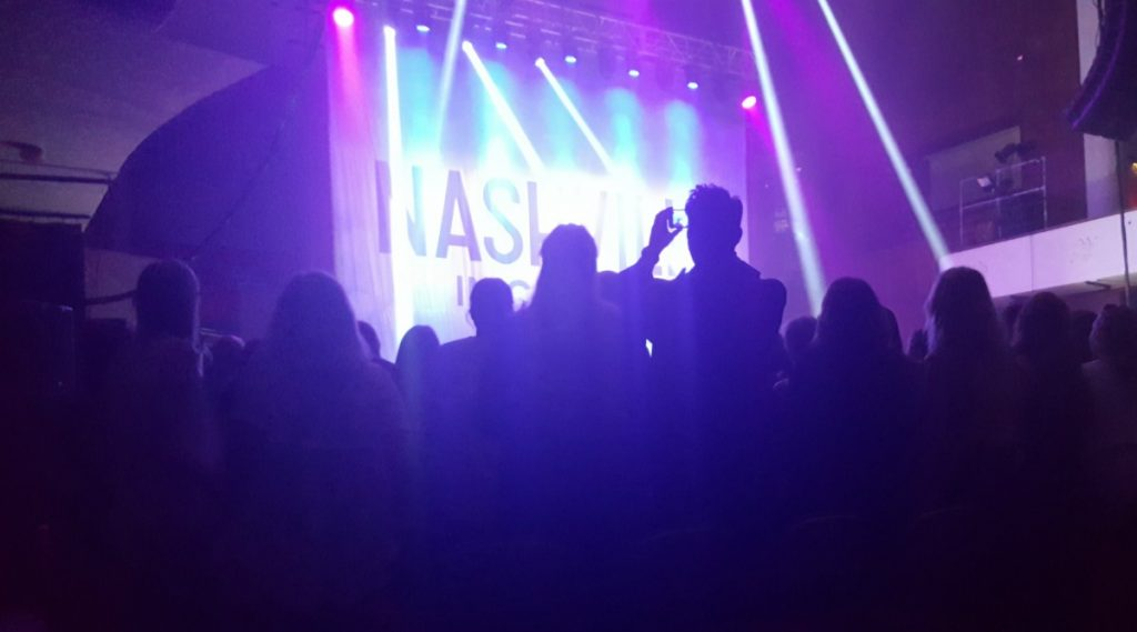 Nashville in Concert @ Colston Hall Bristol Access Review wheelchair viewing area