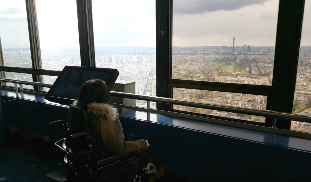 wheelchair accessible things to do in paris Montparnasse Tower view