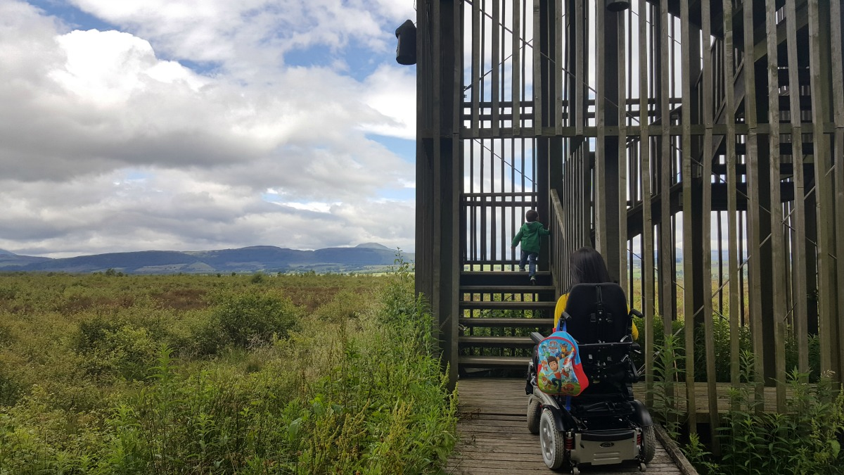 Accessible Scottish Walks Flanders Moss National Nature Reserve Viewing Tower