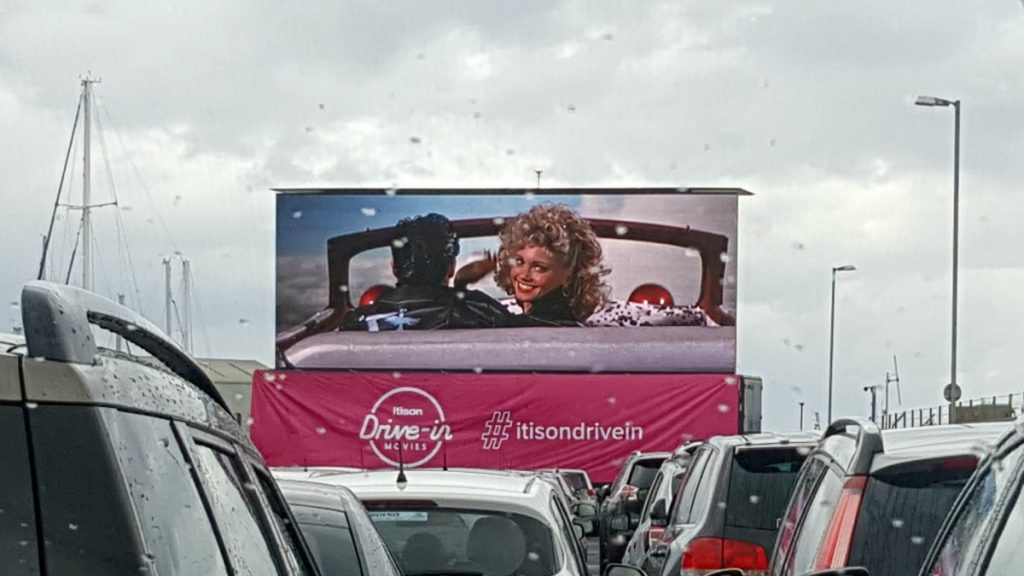 itison drive in movie summer grease