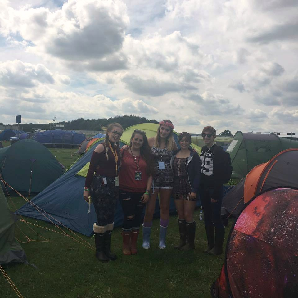 Festival volunteering and accessible camping with a disability