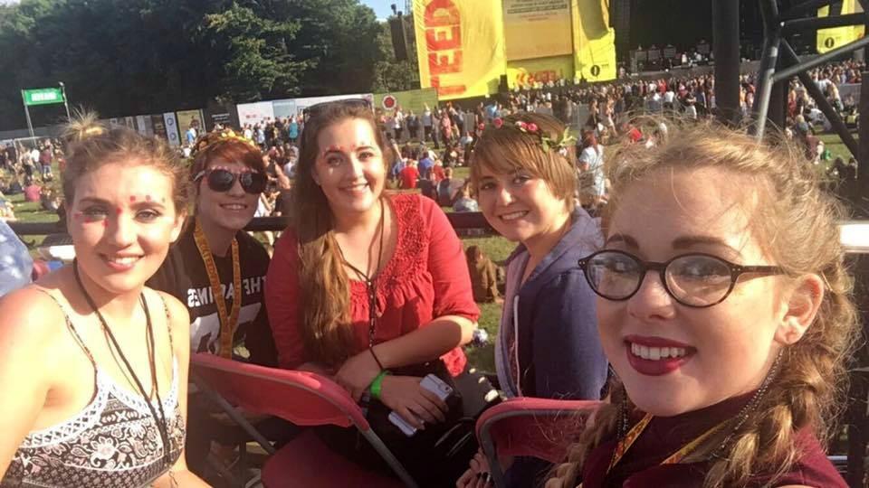 Festival volunteering at Leeds Festival