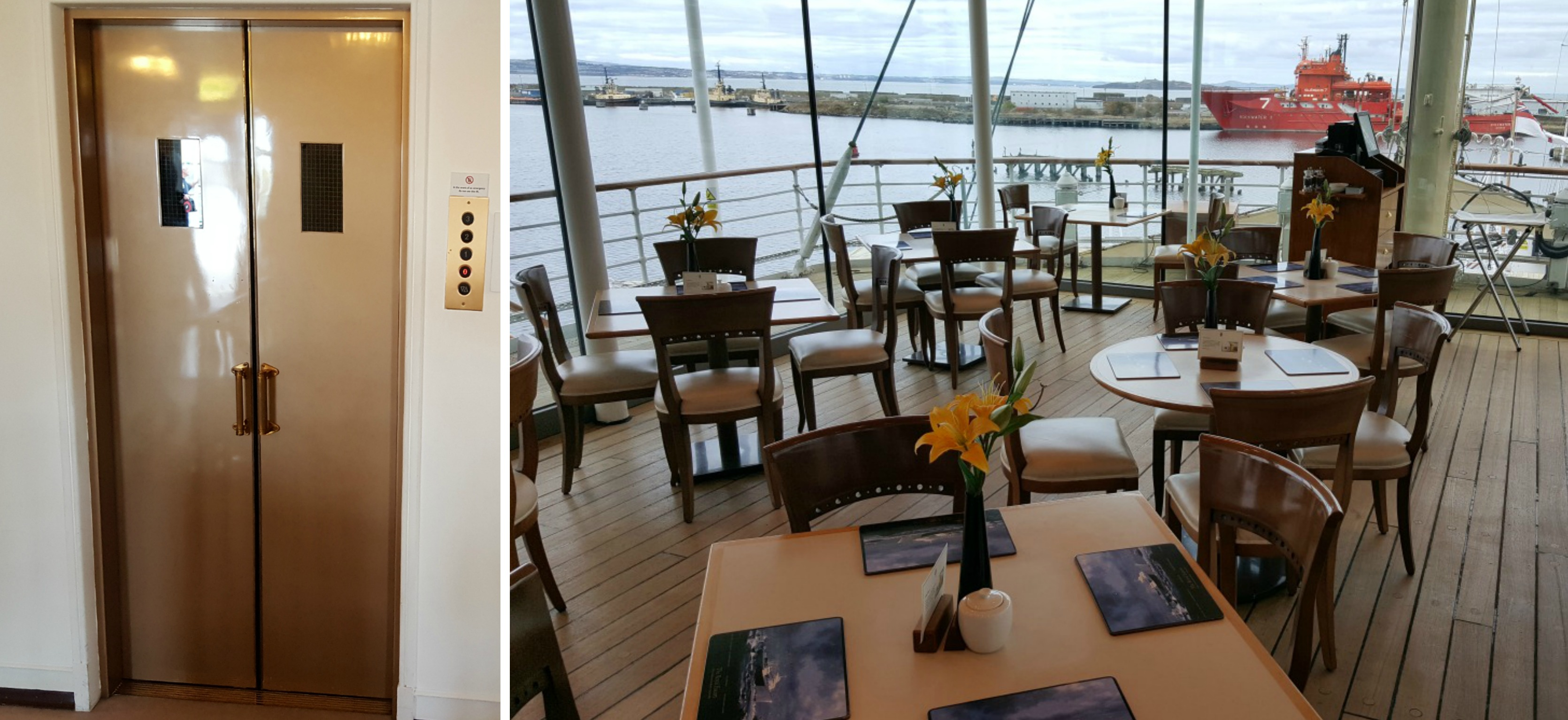 the-royal-yacht-britannia-royal-deck-tea-room-wheelchair-access-lift