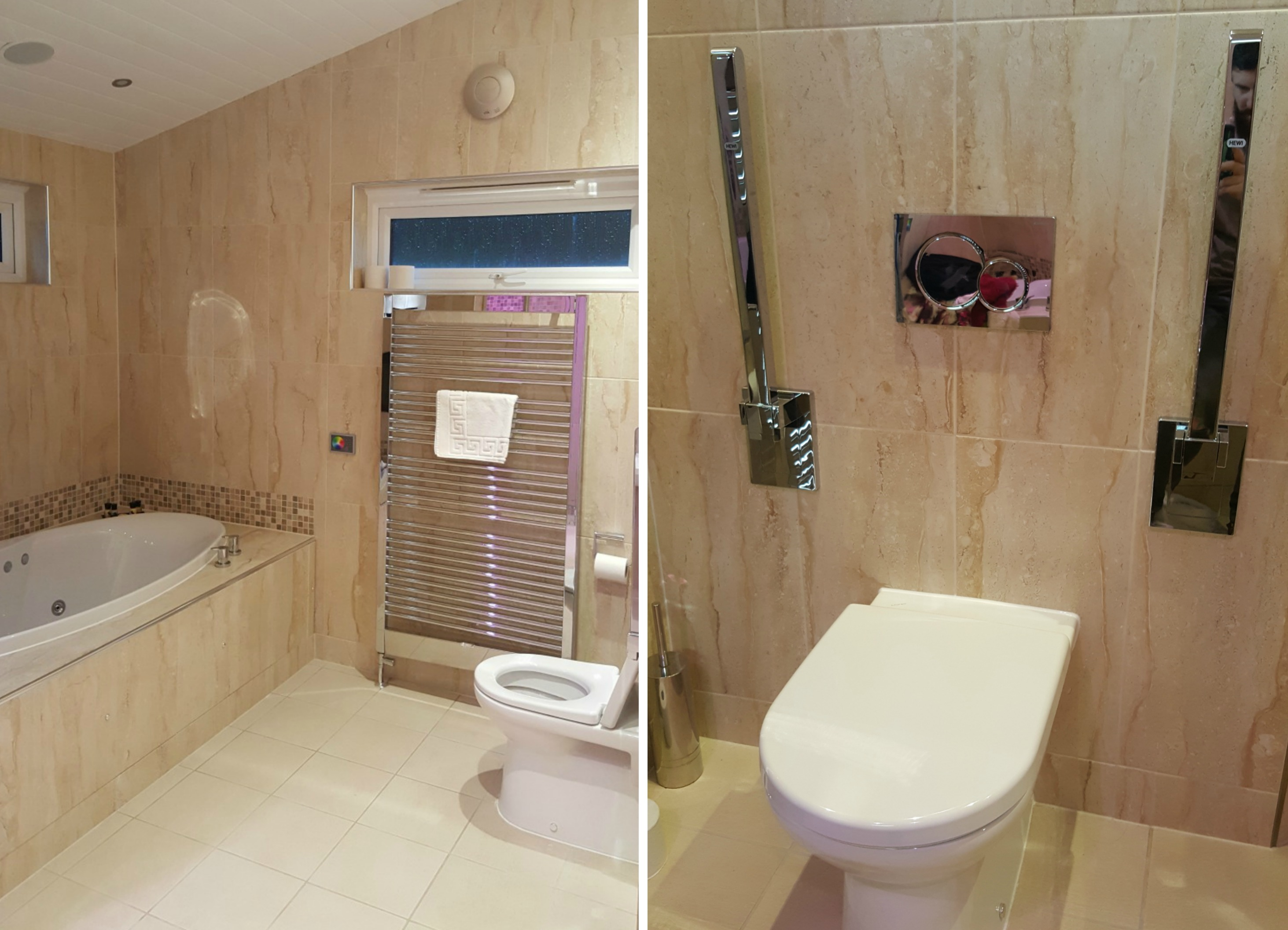The Bradbury master ensuite accessible toilet