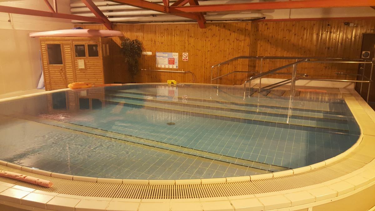 calvert trust kielder indoor hydrotherapy pool