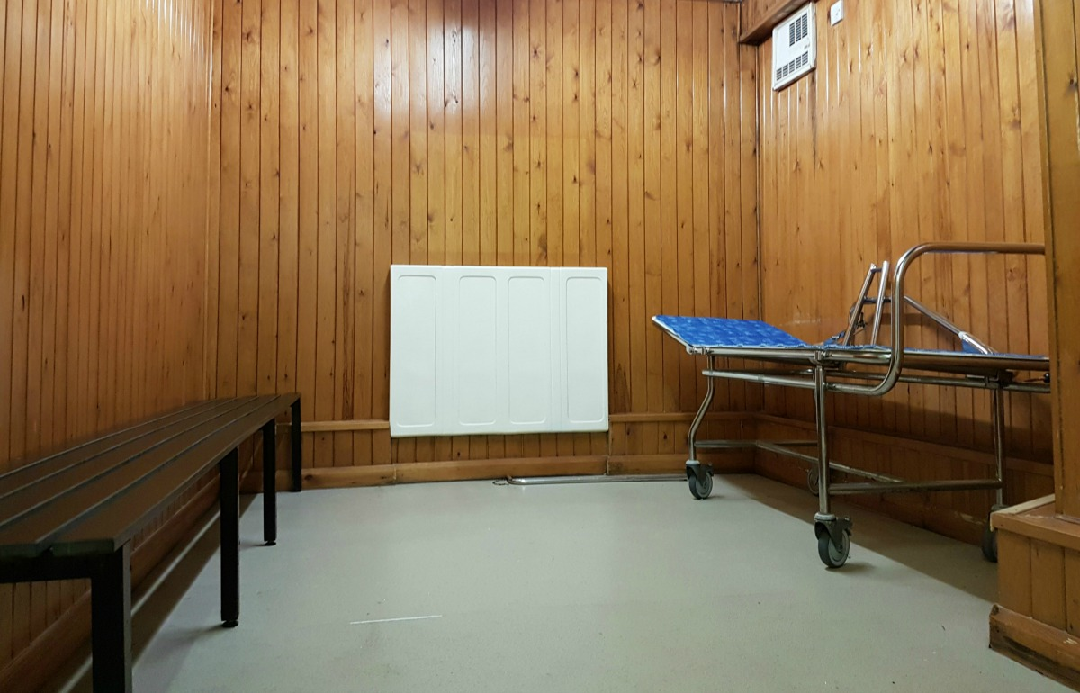 calvert trust kielder swimming pool changing facilities