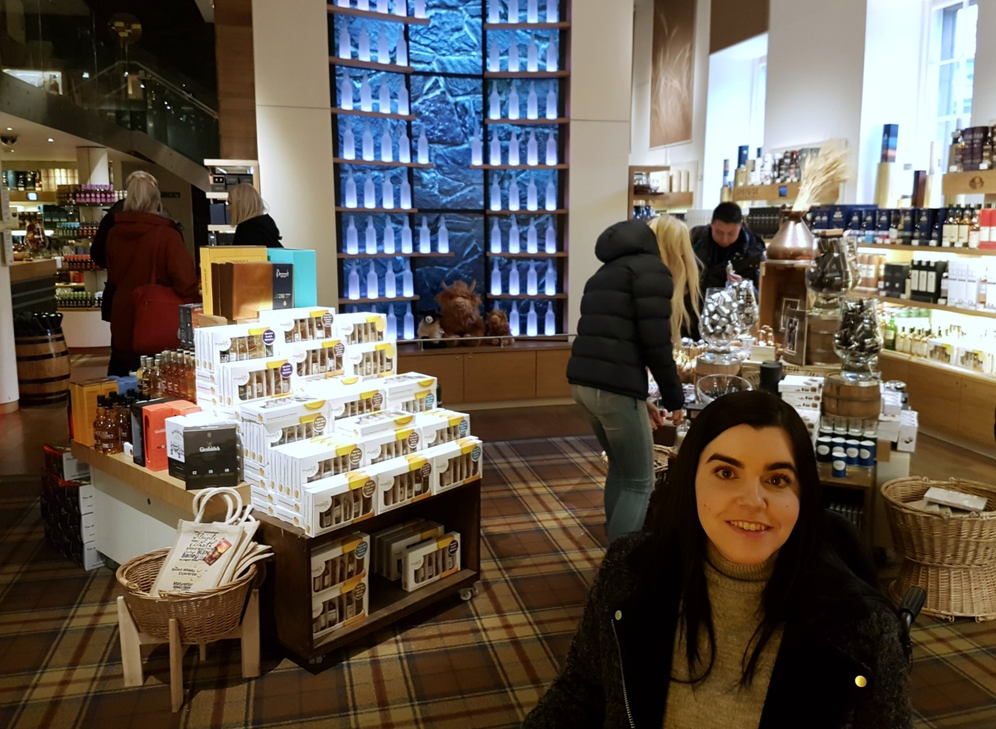 The Scotch Whisky Experience gift shop
