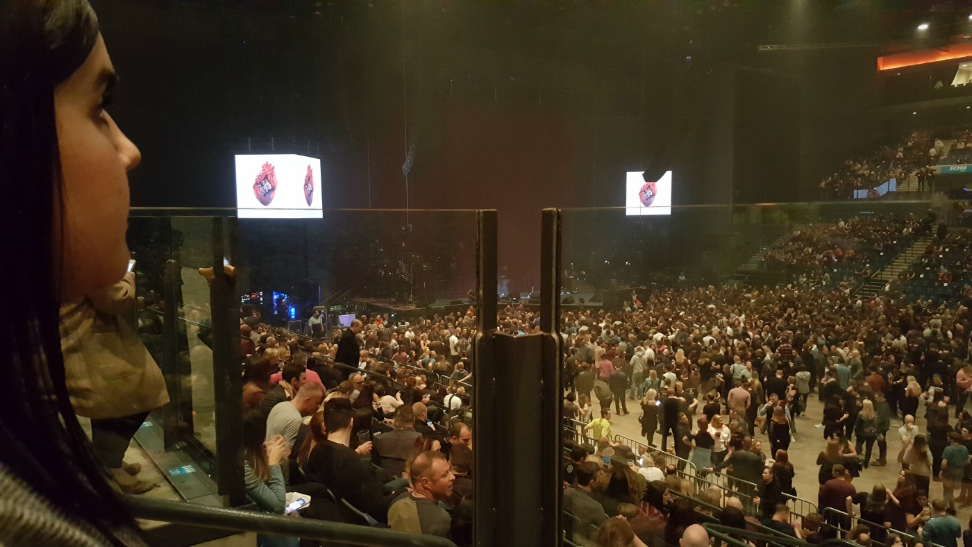 M&S Bank Arena Liverpool accessible seats